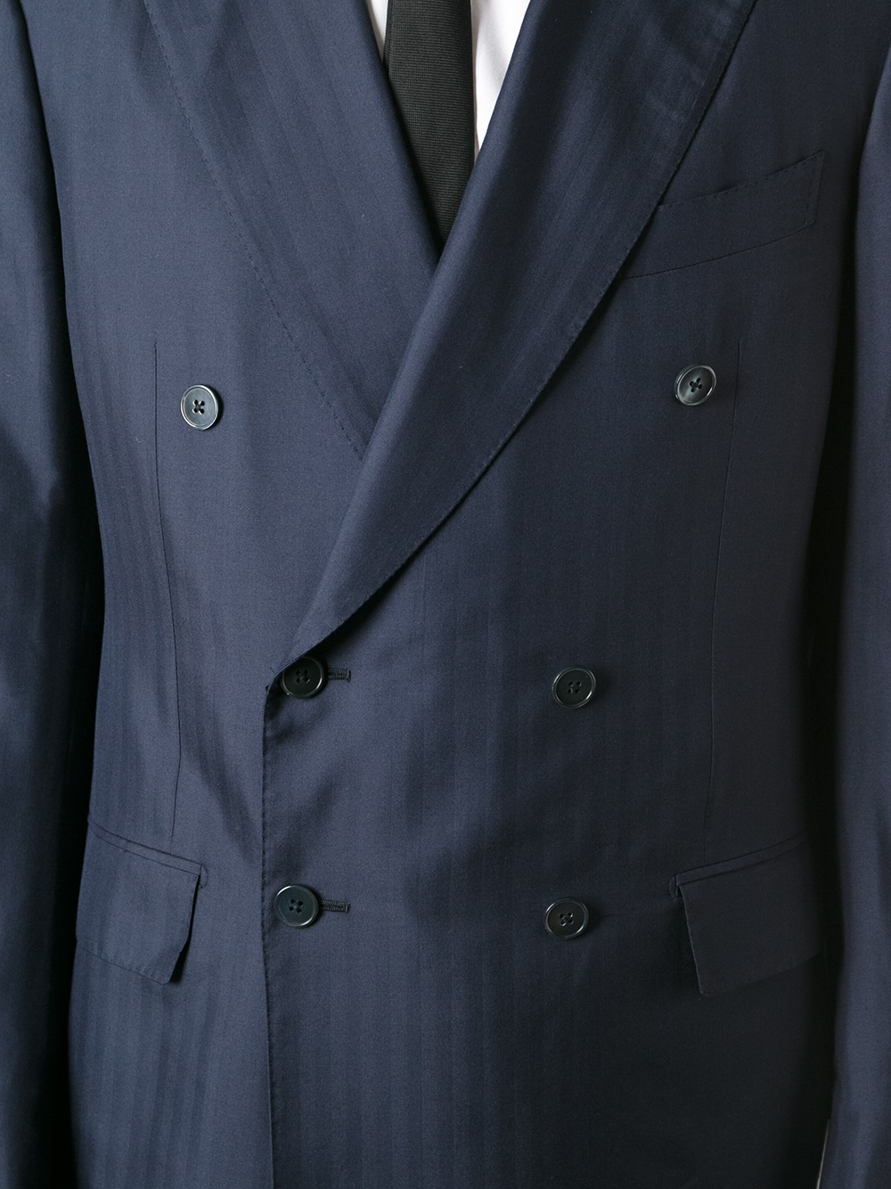 Ermenegildo Zegna single breasted jacket - Blue