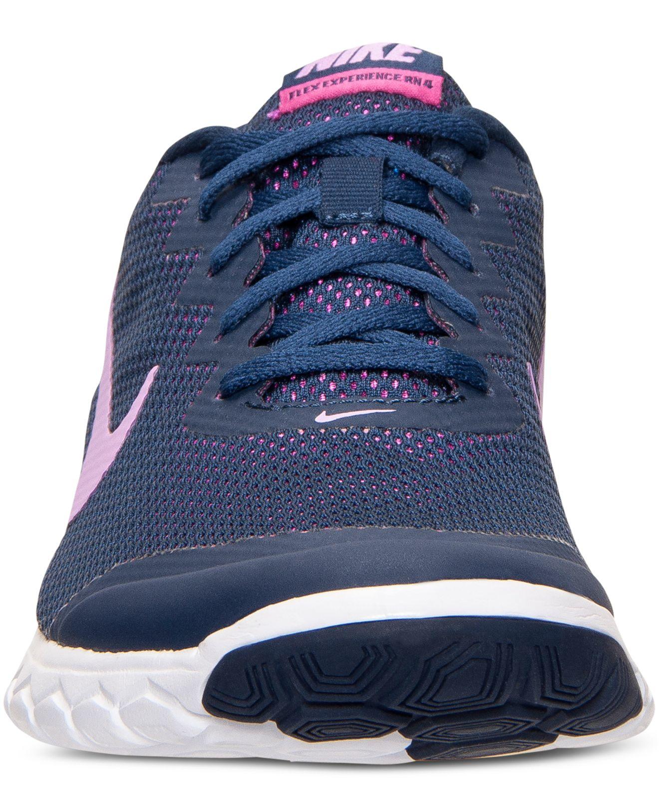 Lyst - Nike Women s Flex Experience Run 4 Running Sneakers From ... d174904848