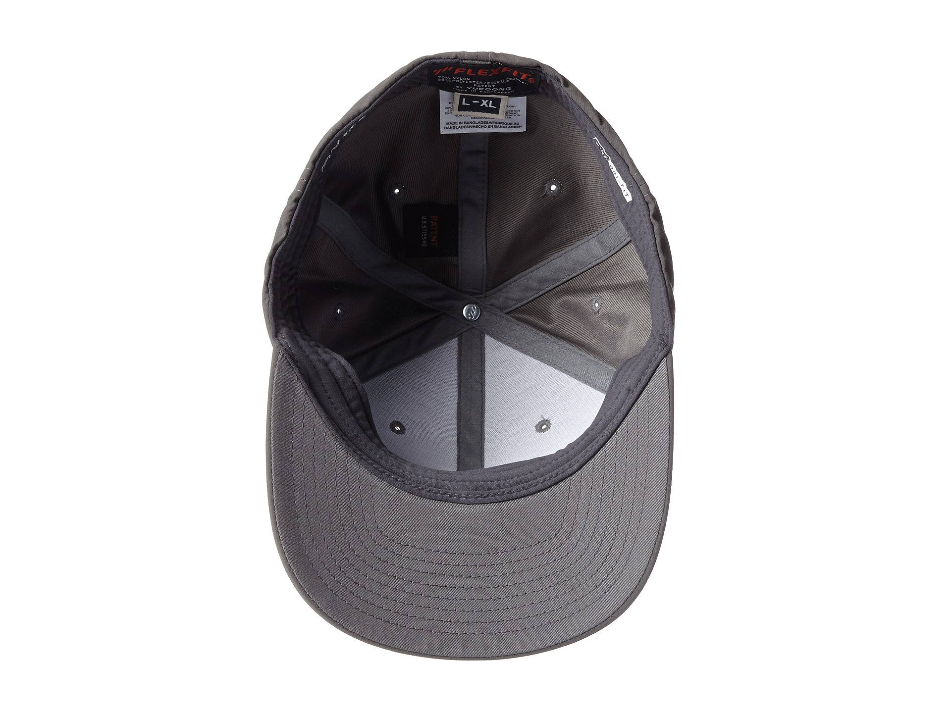 finest selection 2fba7 6eaf3 ... uk lyst hurley dry out flexfit permacurve hat in gray for men 4c637  3c89a