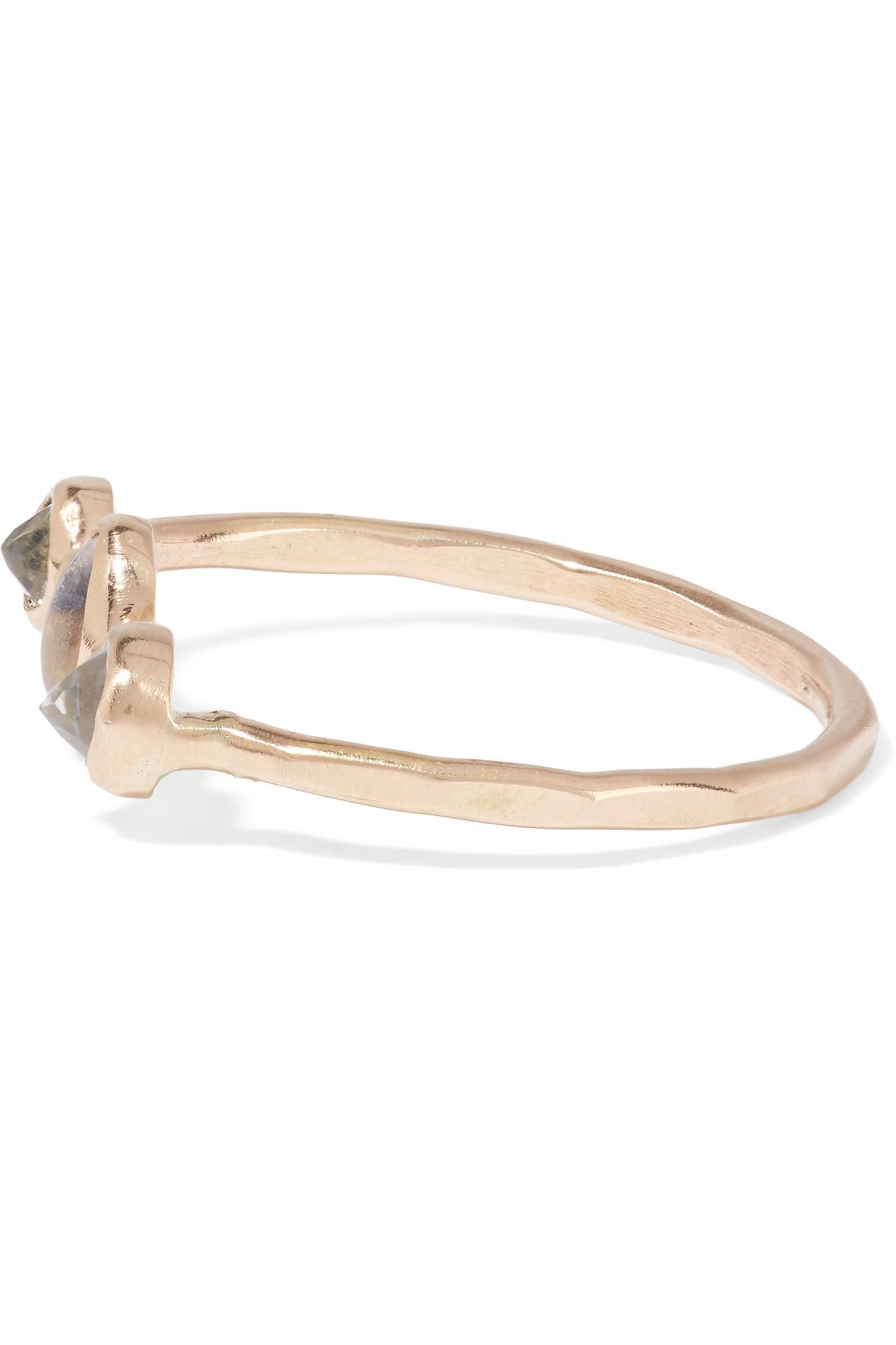 Melissa Joy Manning 14-karat Gold Interlocking Ring tcw8UmMI