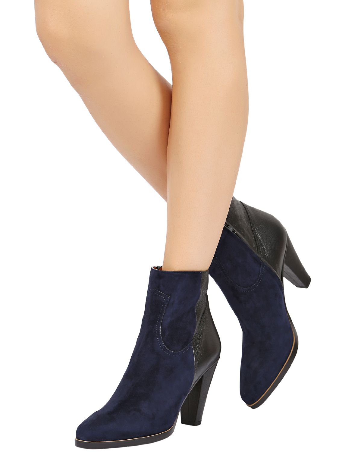 Chloé 90MM LEATHER BOOTS lJh0KFLL