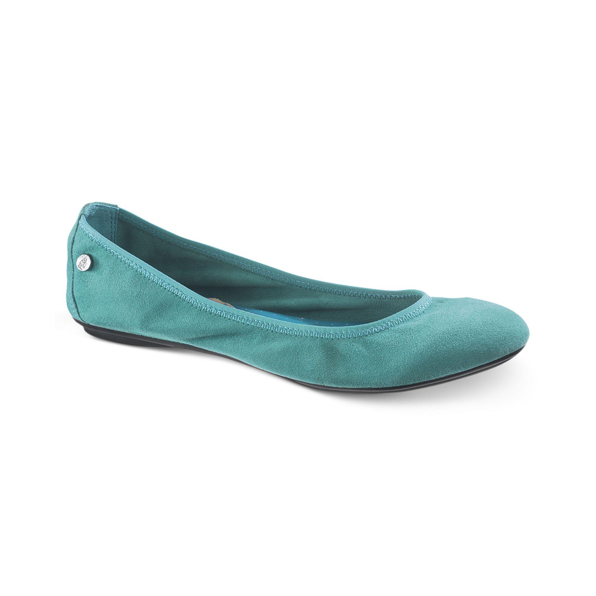 fce8a057ba8 Lyst - Hush Puppies Womens Chaste Ballet Flats in Blue