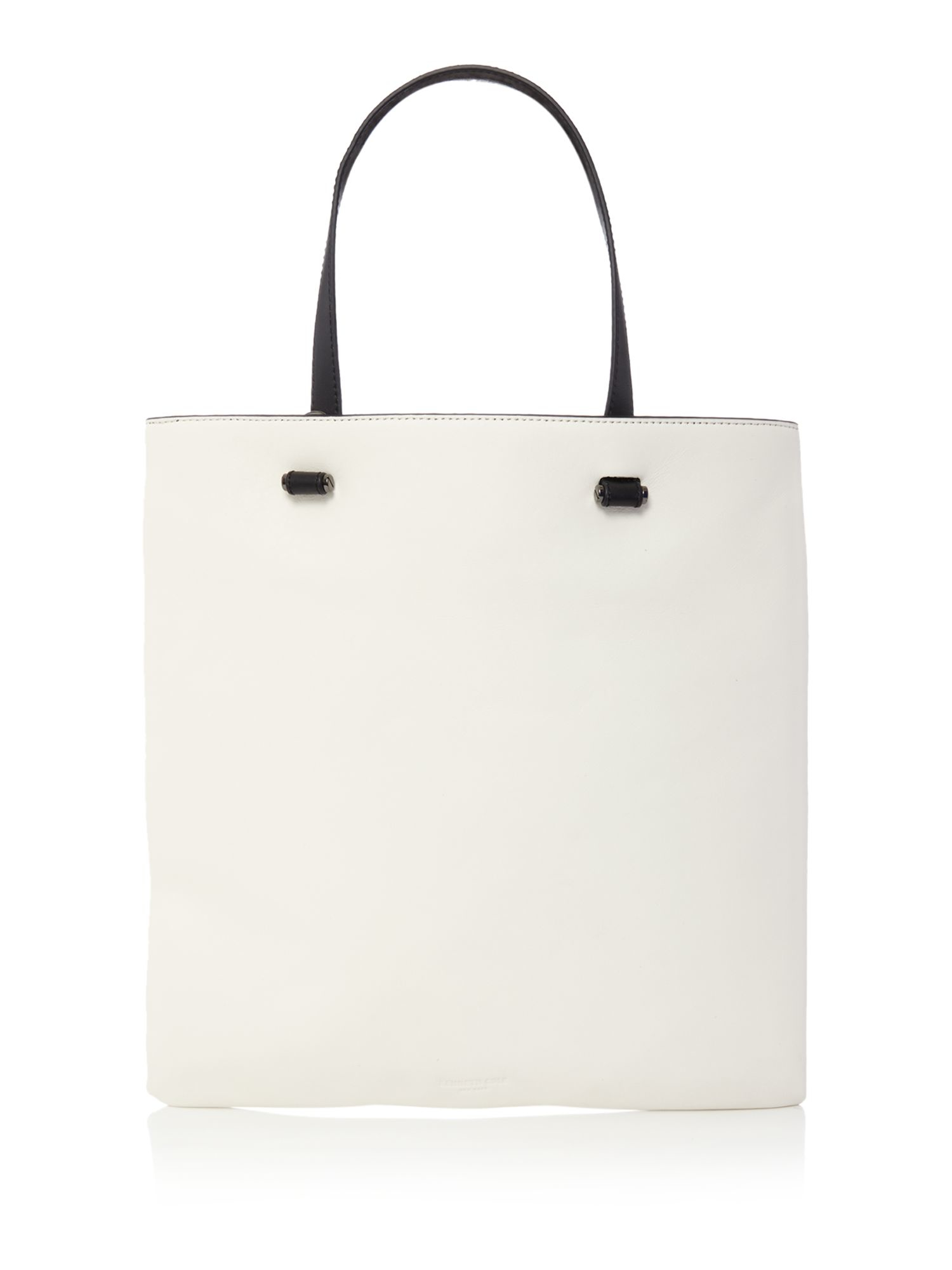 Kenneth Cole White And Black Tote Bag in White - Lyst 4ee6a983172b2