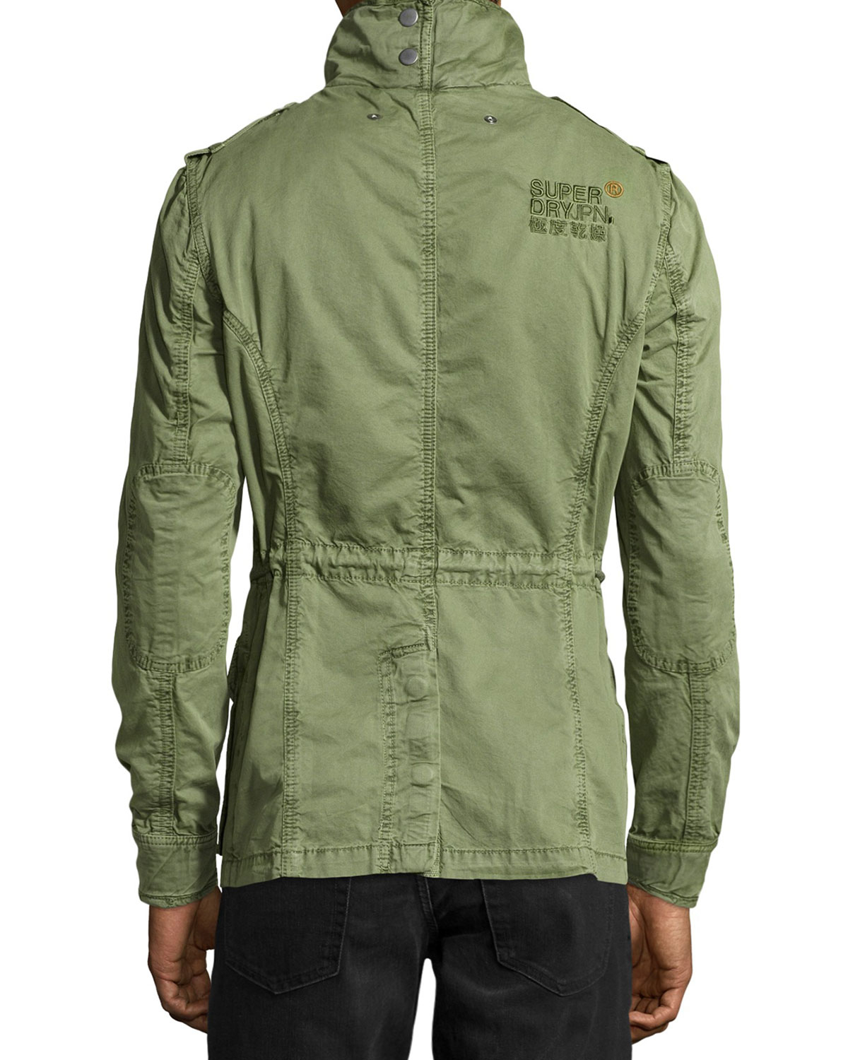 Superdry Lightweight Canvas Flag Jacket in Green for Men | Lyst