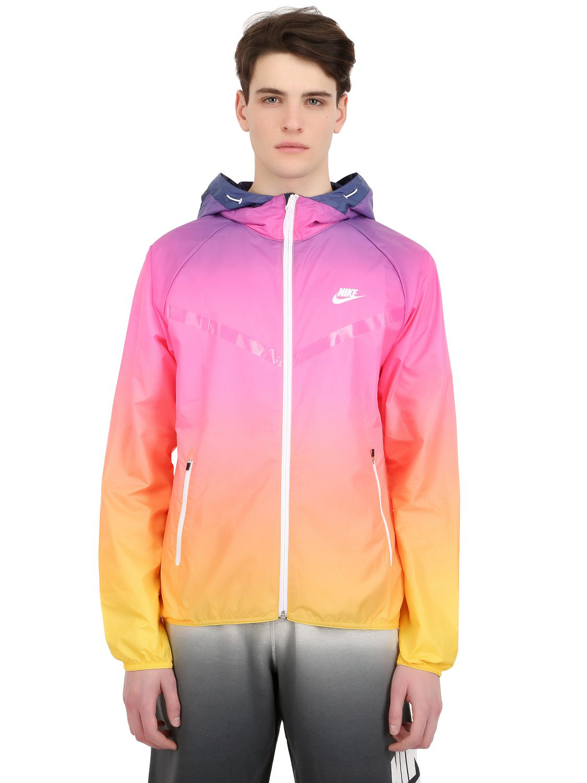 f045598b7ecc Nike Gradient Nylon Windbreaker Jacket for Men - Lyst