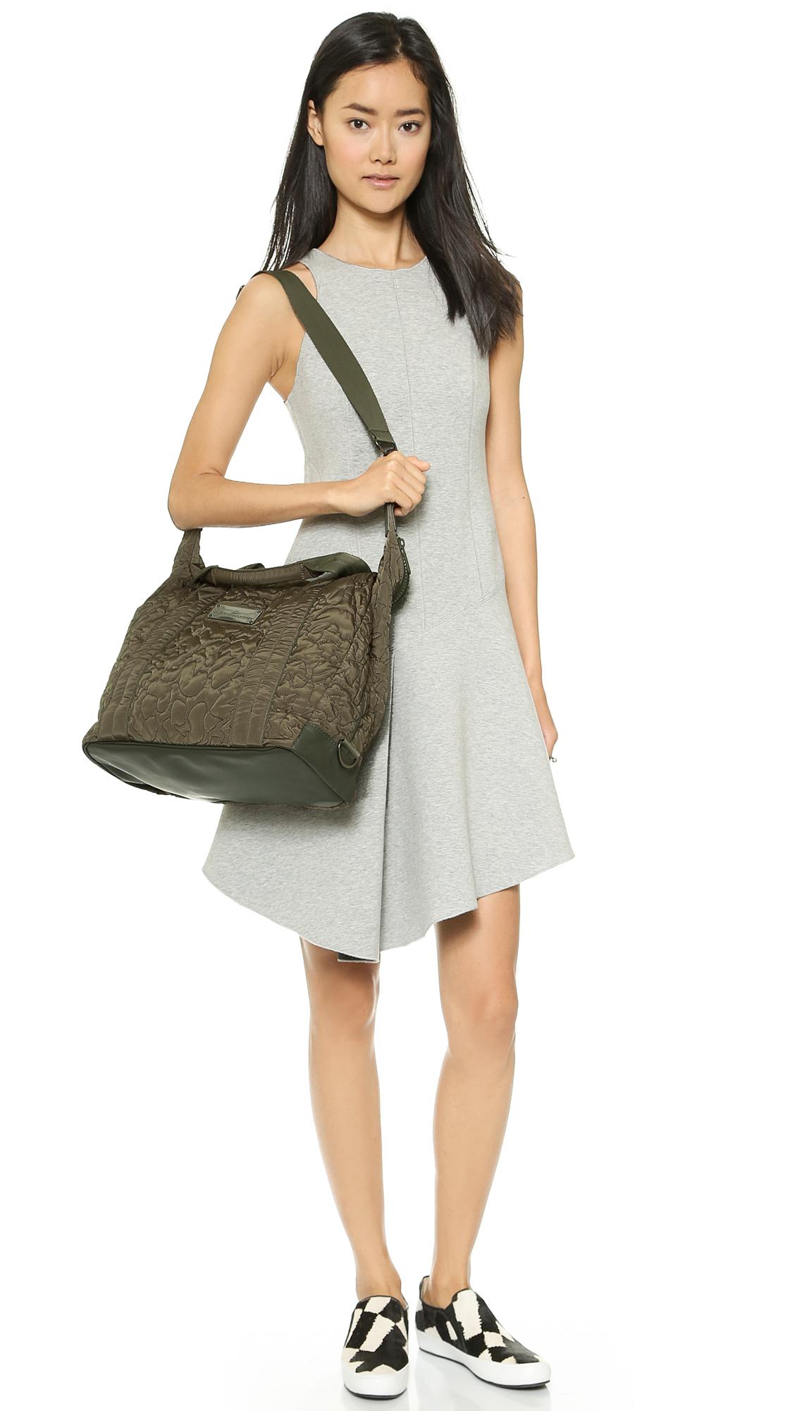 59e5a3100783 Lyst - adidas By Stella McCartney Small Gym Bag - Cargo in Green