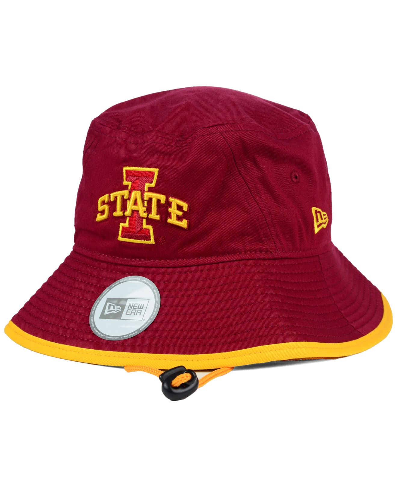 sports shoes 50467 f3172 ... cheap lyst ktz iowa state cyclones tip bucket hat in red for men 8b42e  5cdaa