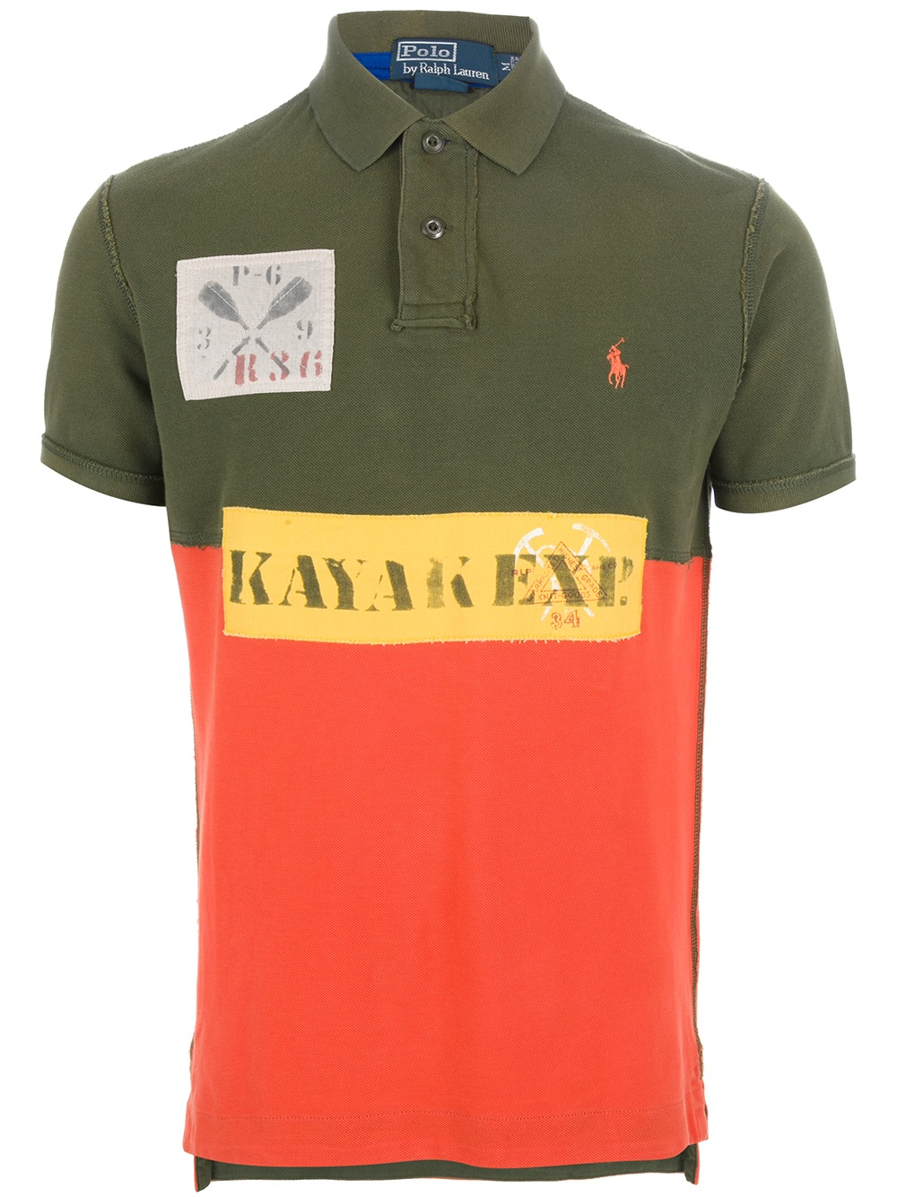 56b80798 ... where can i buy lyst polo ralph lauren patch detailed polo shirt in  green for men