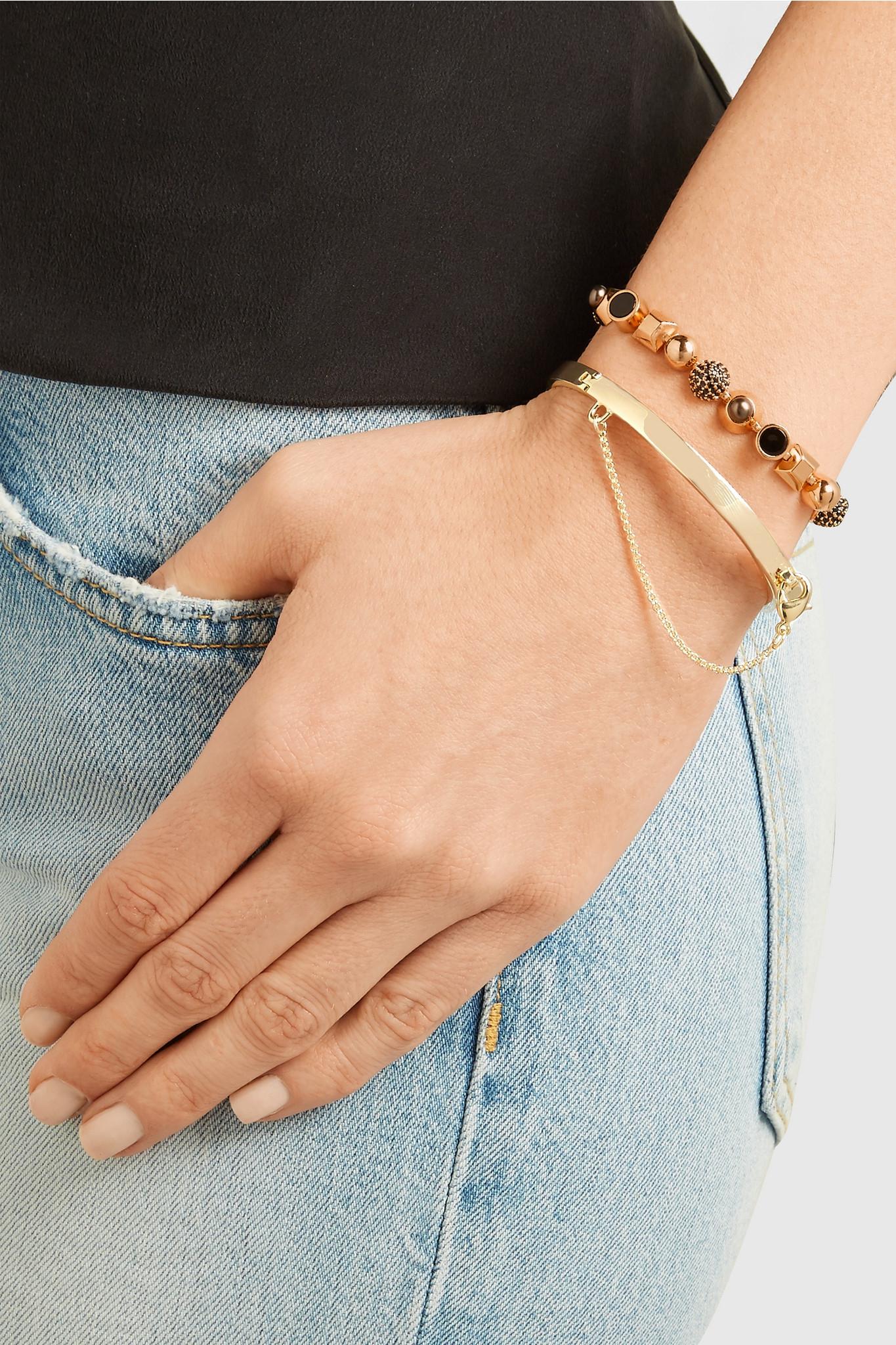 Eddie Borgo Safety chain bracelet UuktJO7