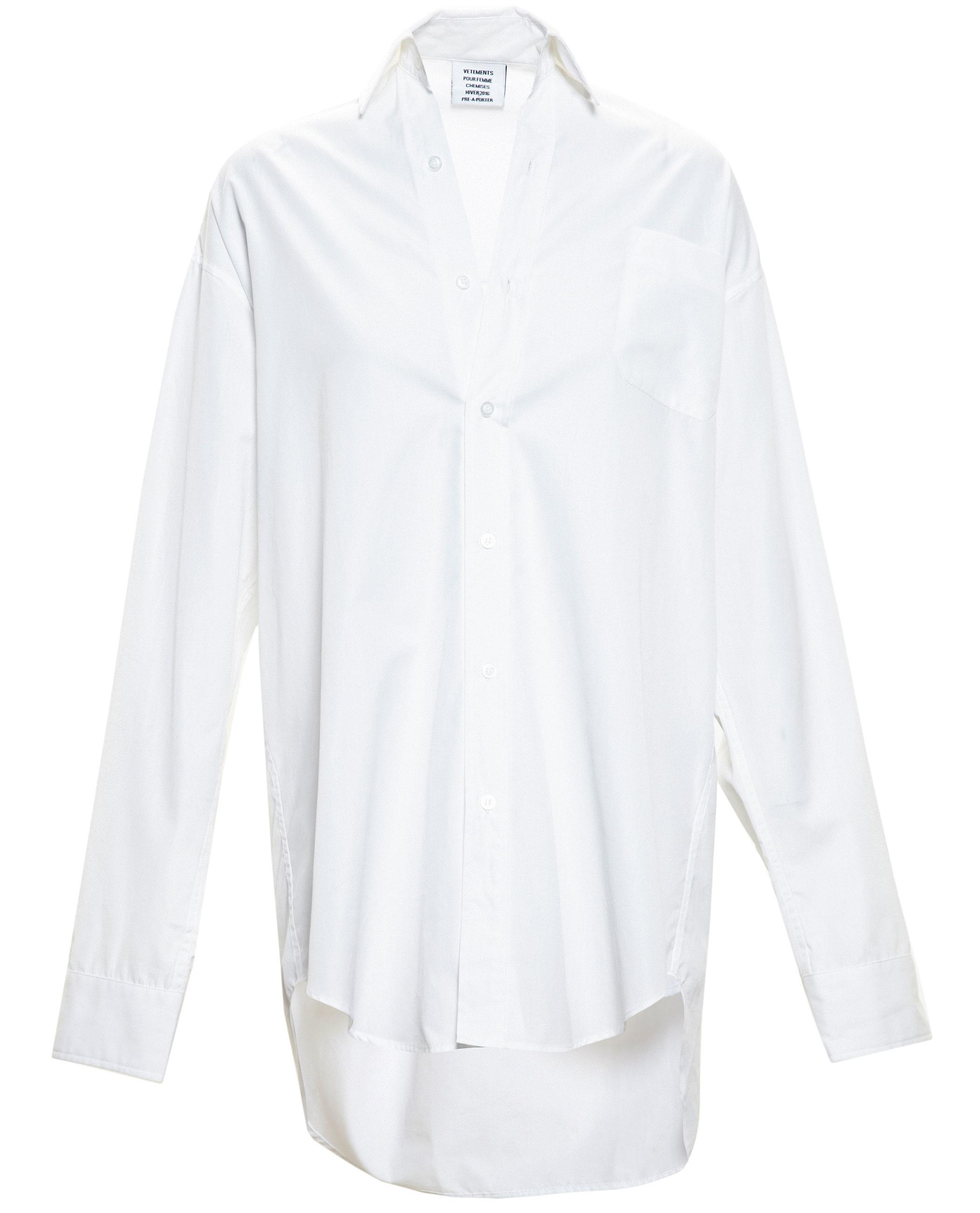 White Oversized Shirt River Island