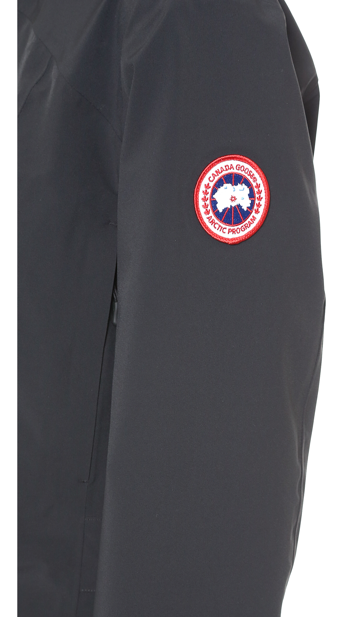 Canada Goose kids replica fake - Canada goose Coastal Shell Black in Black | Lyst