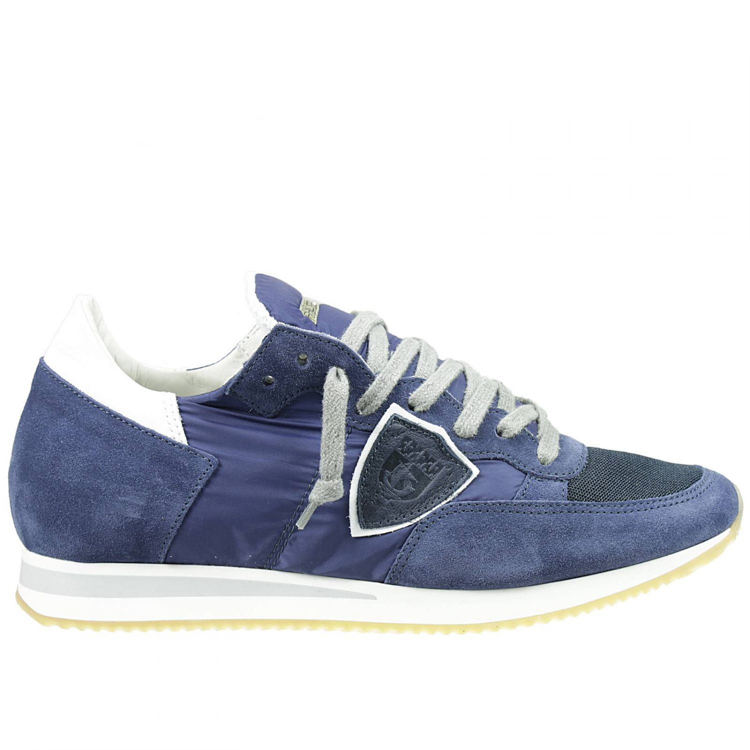 philippe model men 39 s sneakers in blue for men lyst. Black Bedroom Furniture Sets. Home Design Ideas