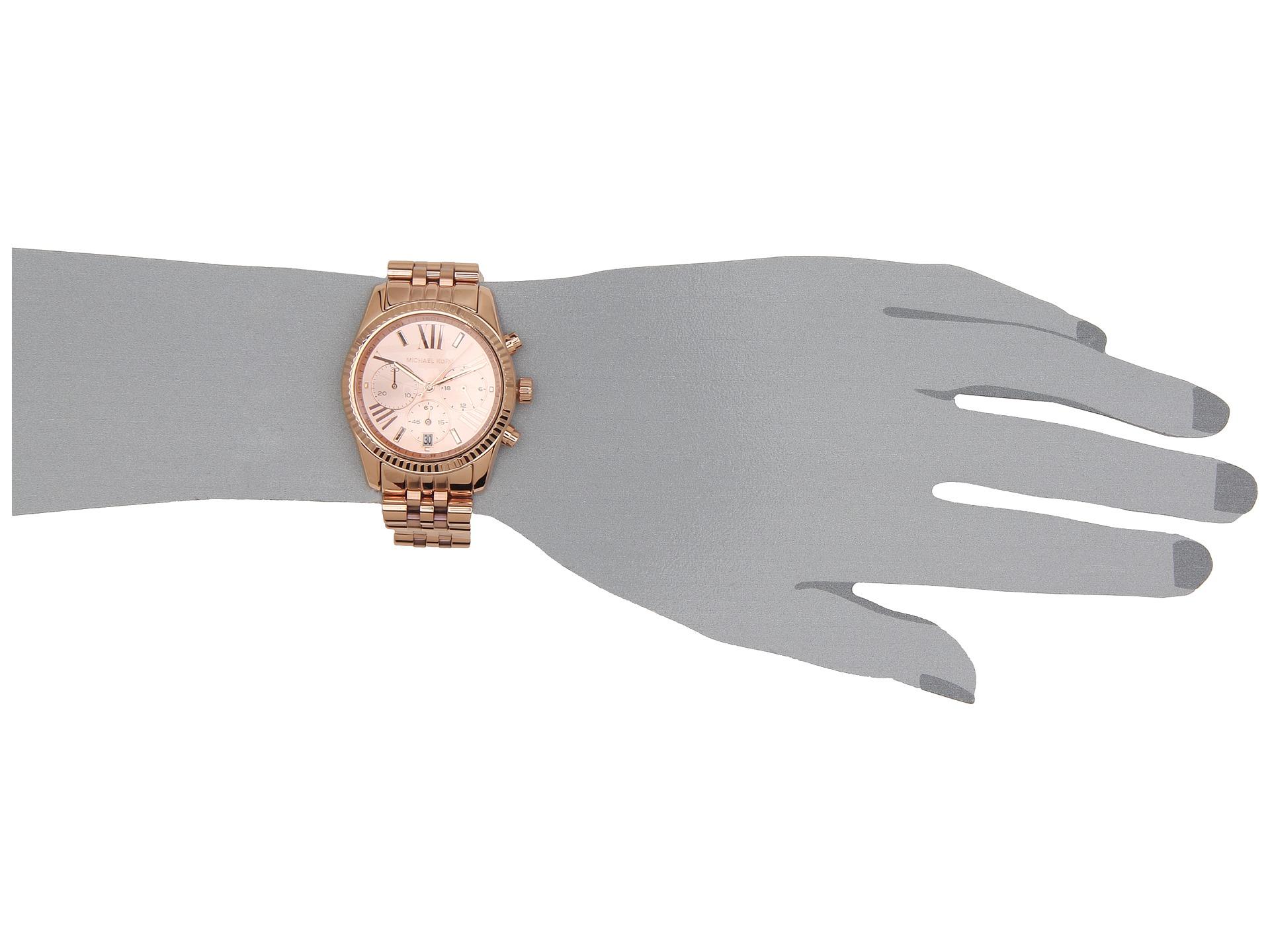 Michael Kors Large Lexington Chronograph Bracelet Watch