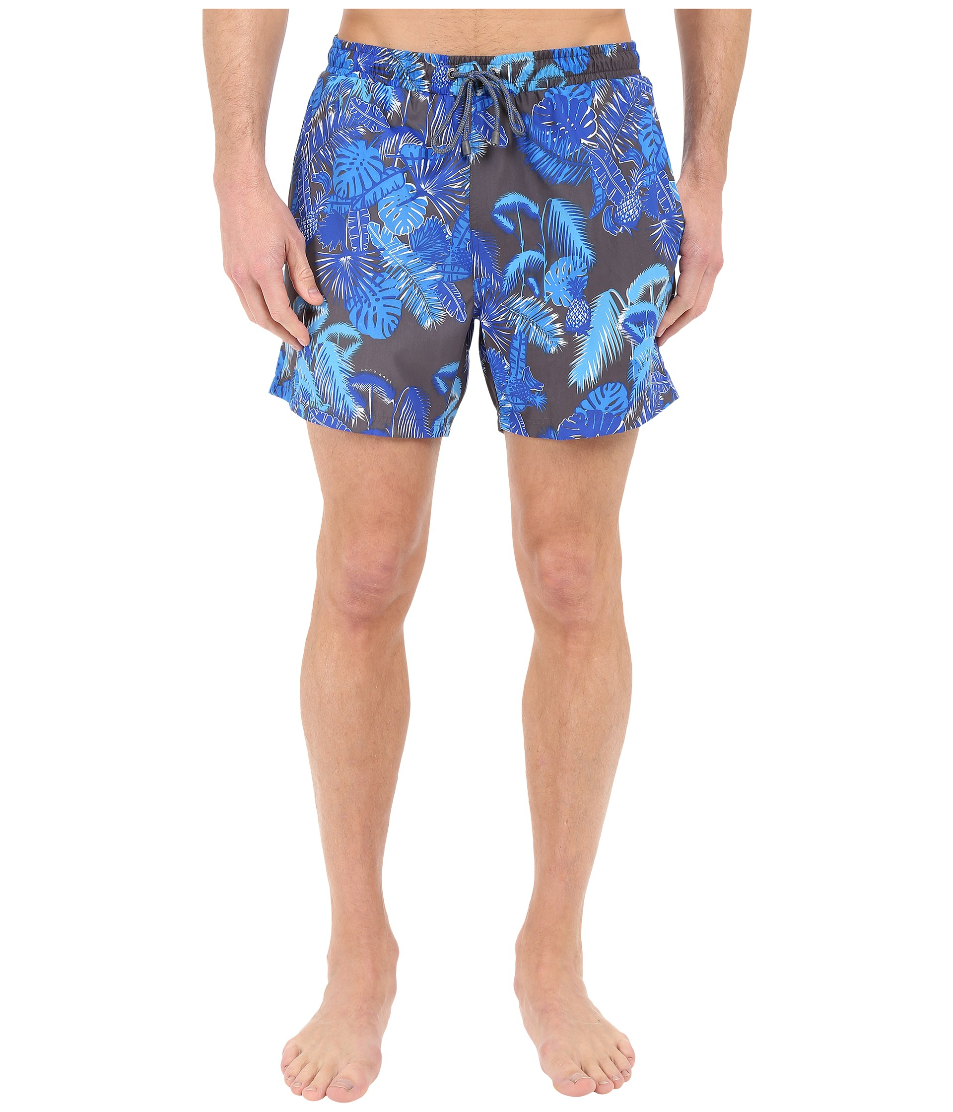 d478ee2def hugo boss piranha floral print swim short | Teduh Hostel