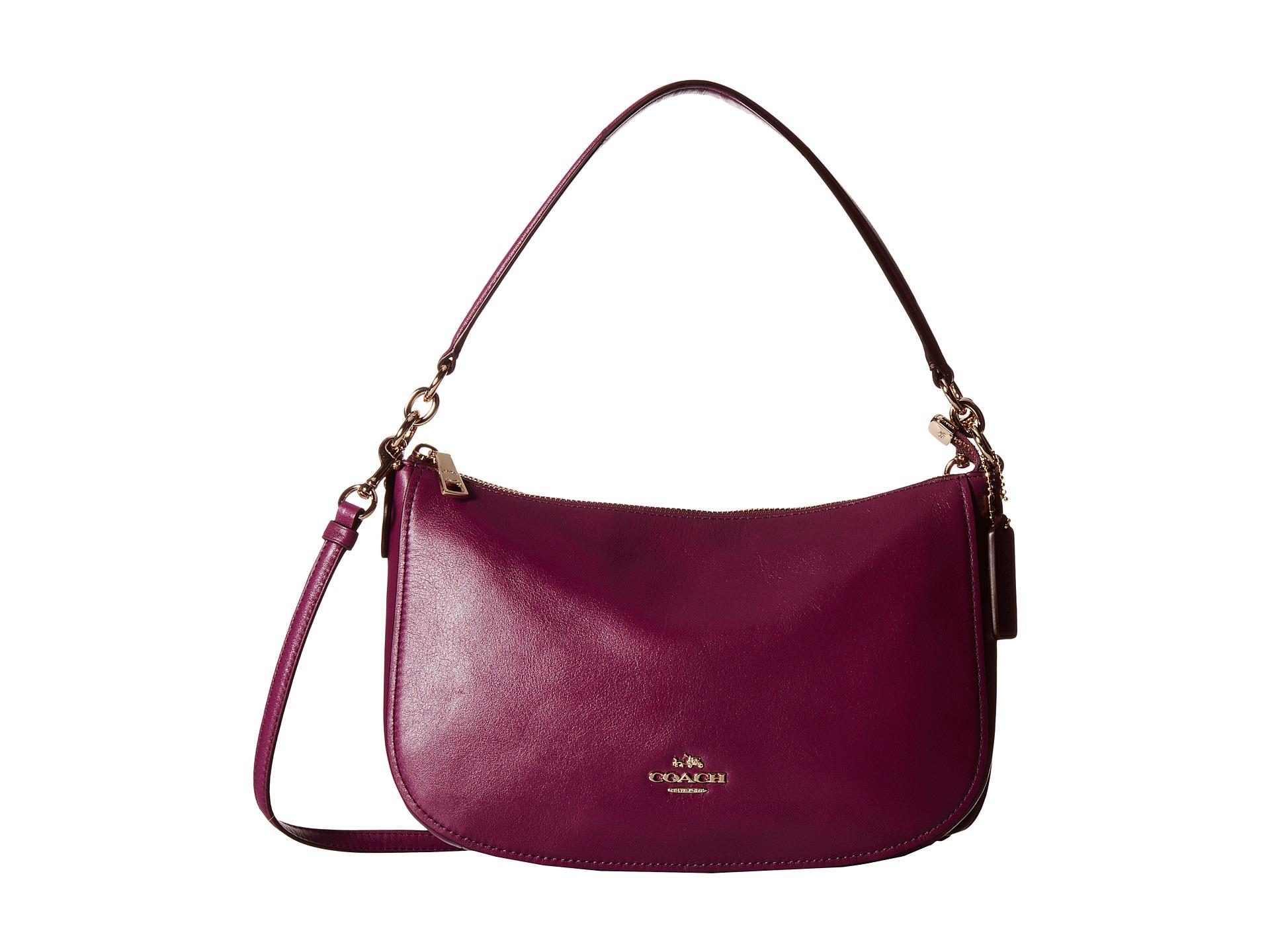 Lyst - COACH Chelsea Crossbody in Purple 6e227ac8ac5db