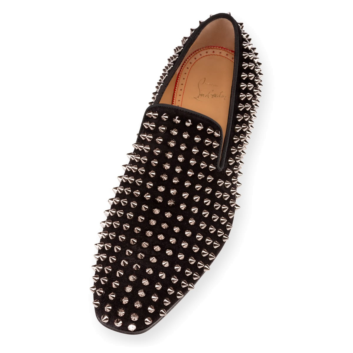 louboutin imitation - Christian louboutin Dandy 1c1s Veau Velours in Gold for Men (black ...