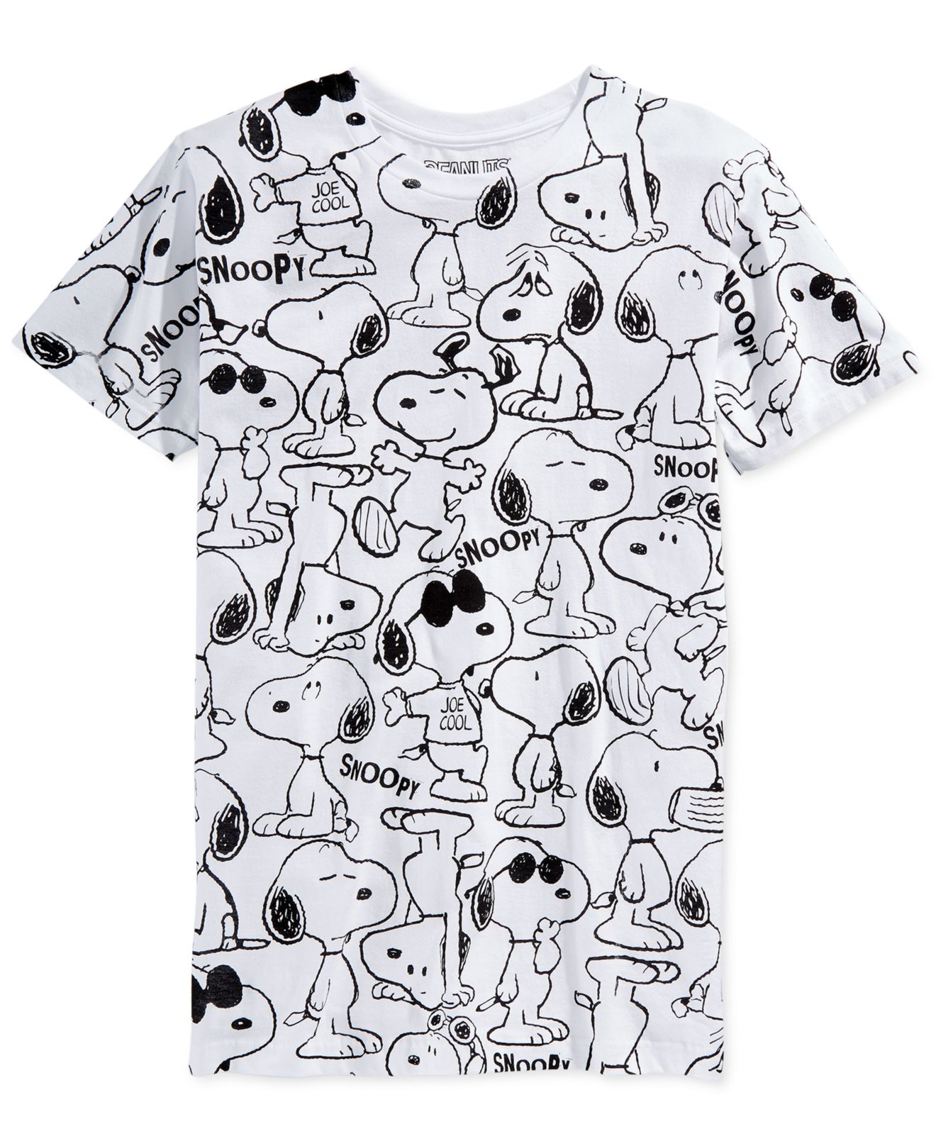 jem peanuts snoopy t shirt in white for men save 59 lyst. Black Bedroom Furniture Sets. Home Design Ideas