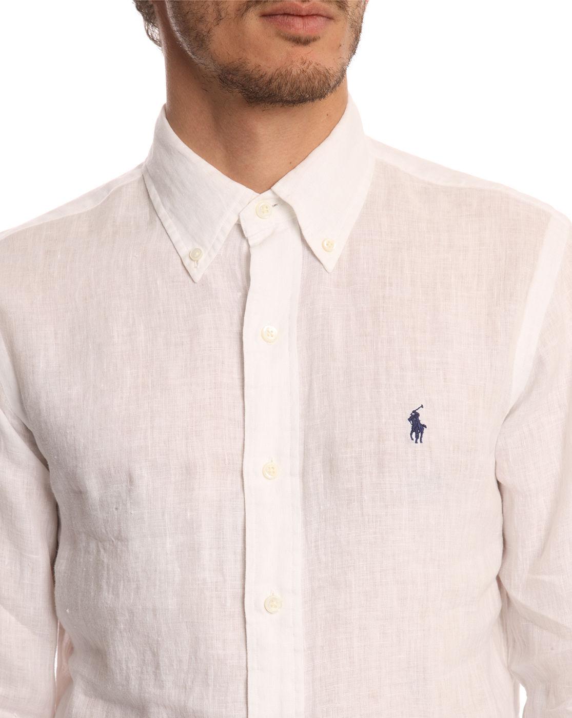 White Linen Shirt Mens Slim Fit | Is Shirt