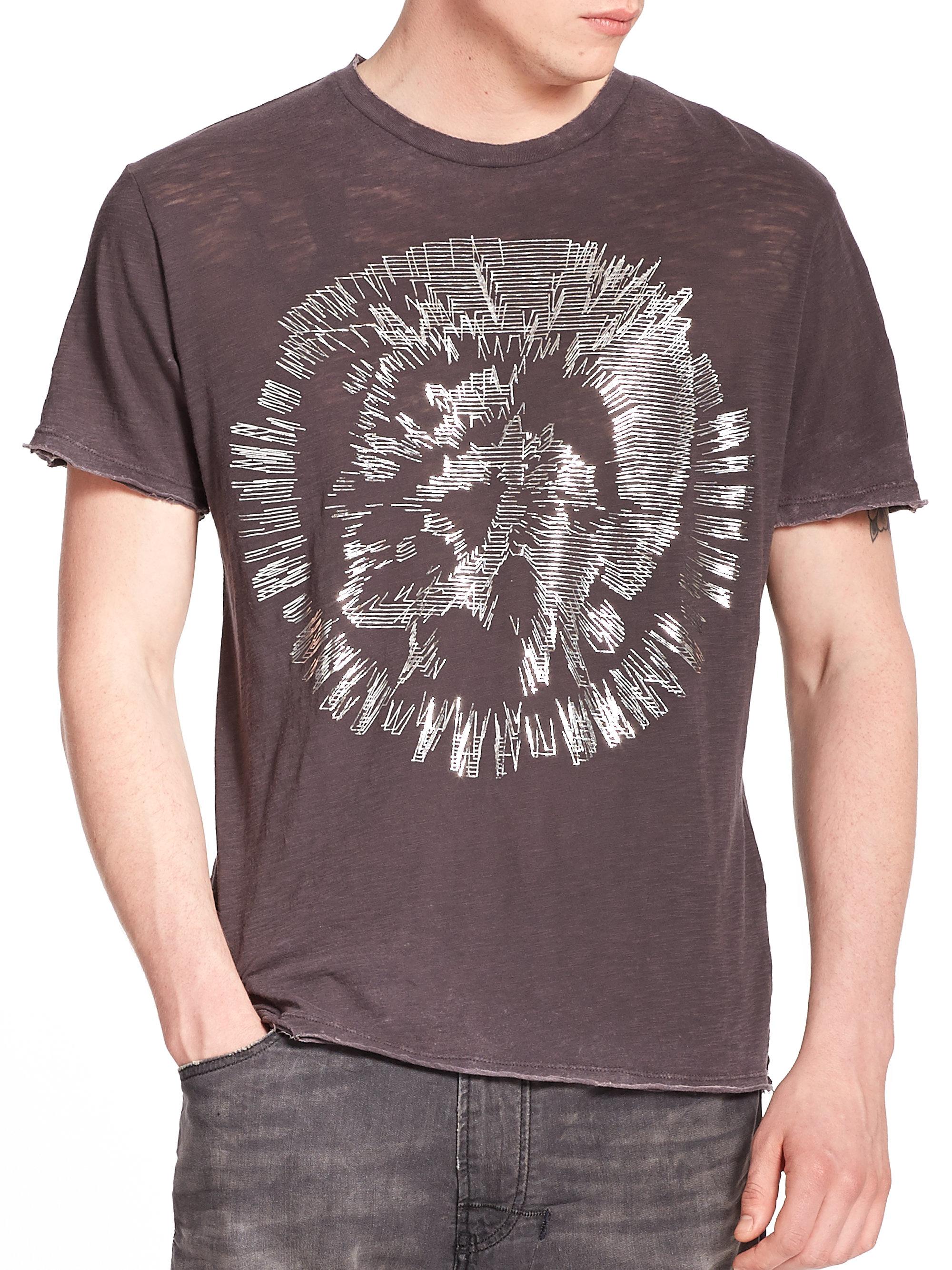 Denim T Shirts For Men