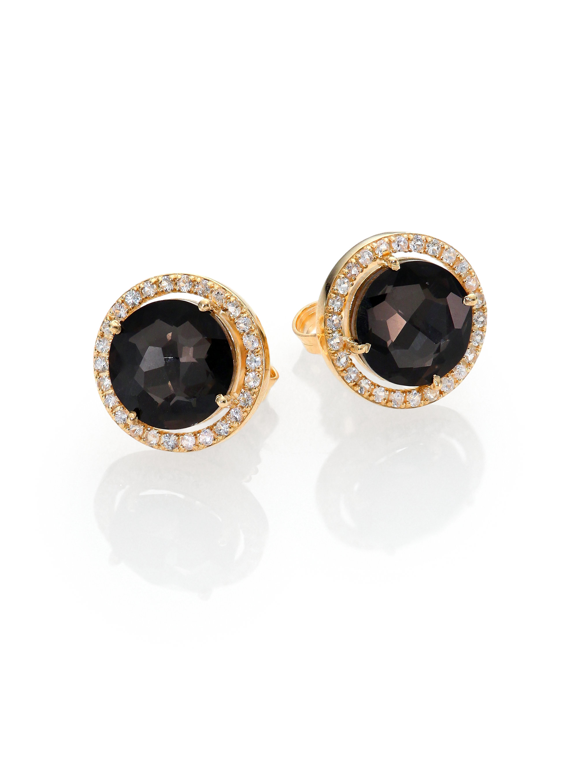 products mignonne gold joan black gavigan earrings