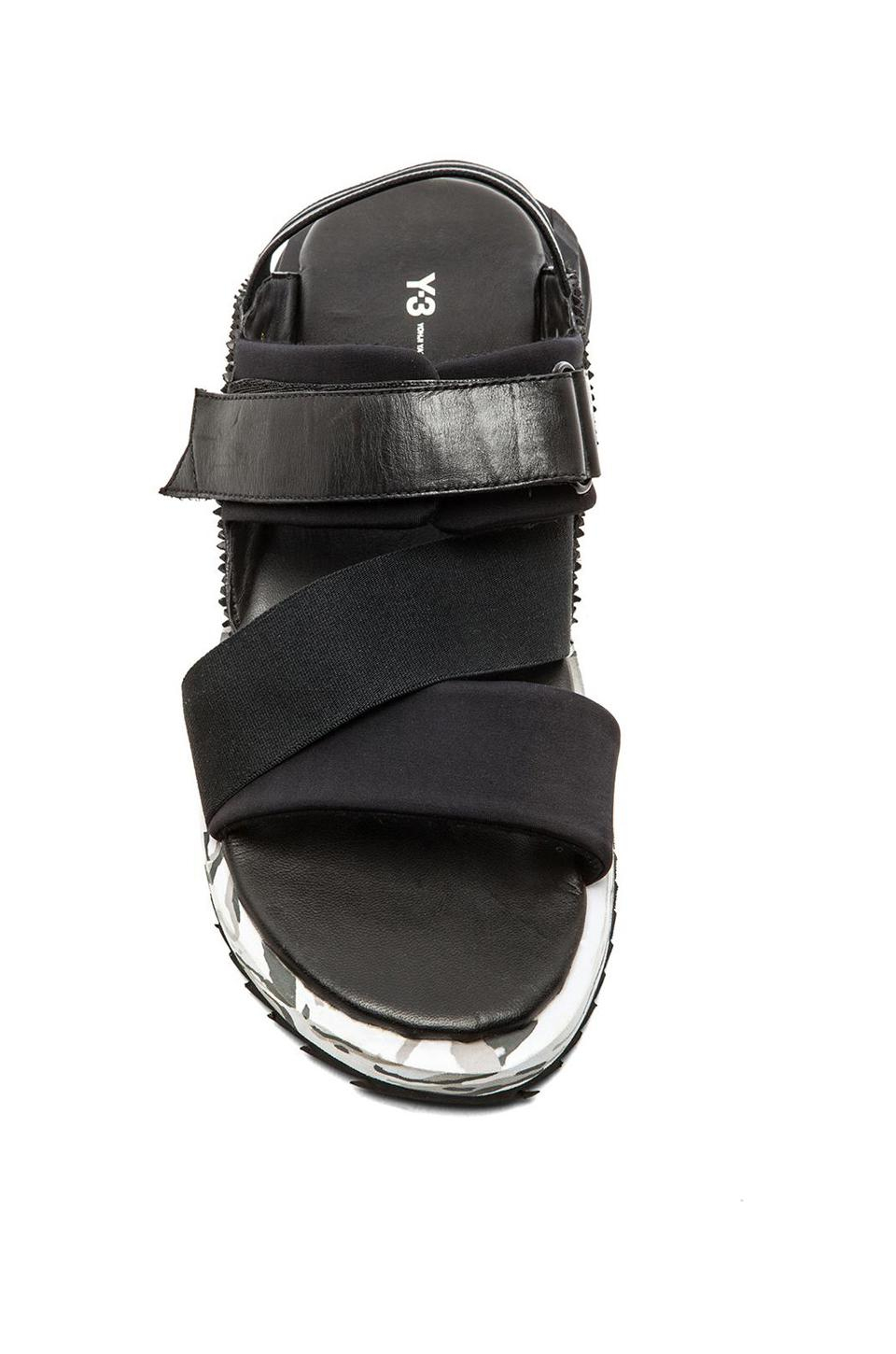 ee5a60cc8 Lyst - Y-3 Kaohe Sandal in Black for Men