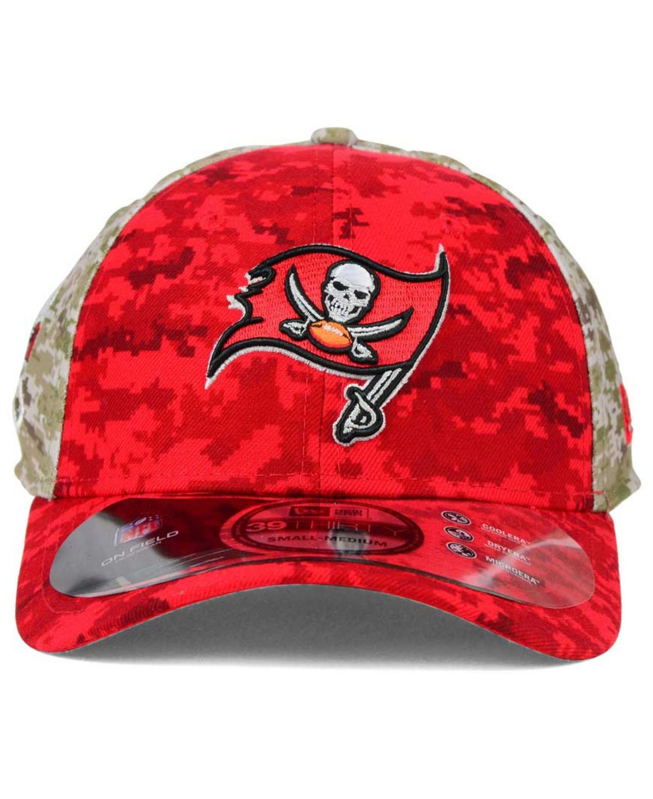 Lyst - KTZ Tampa Bay Buccaneers Salute To Service 39thirty Cap in ... 876dcd4a38a