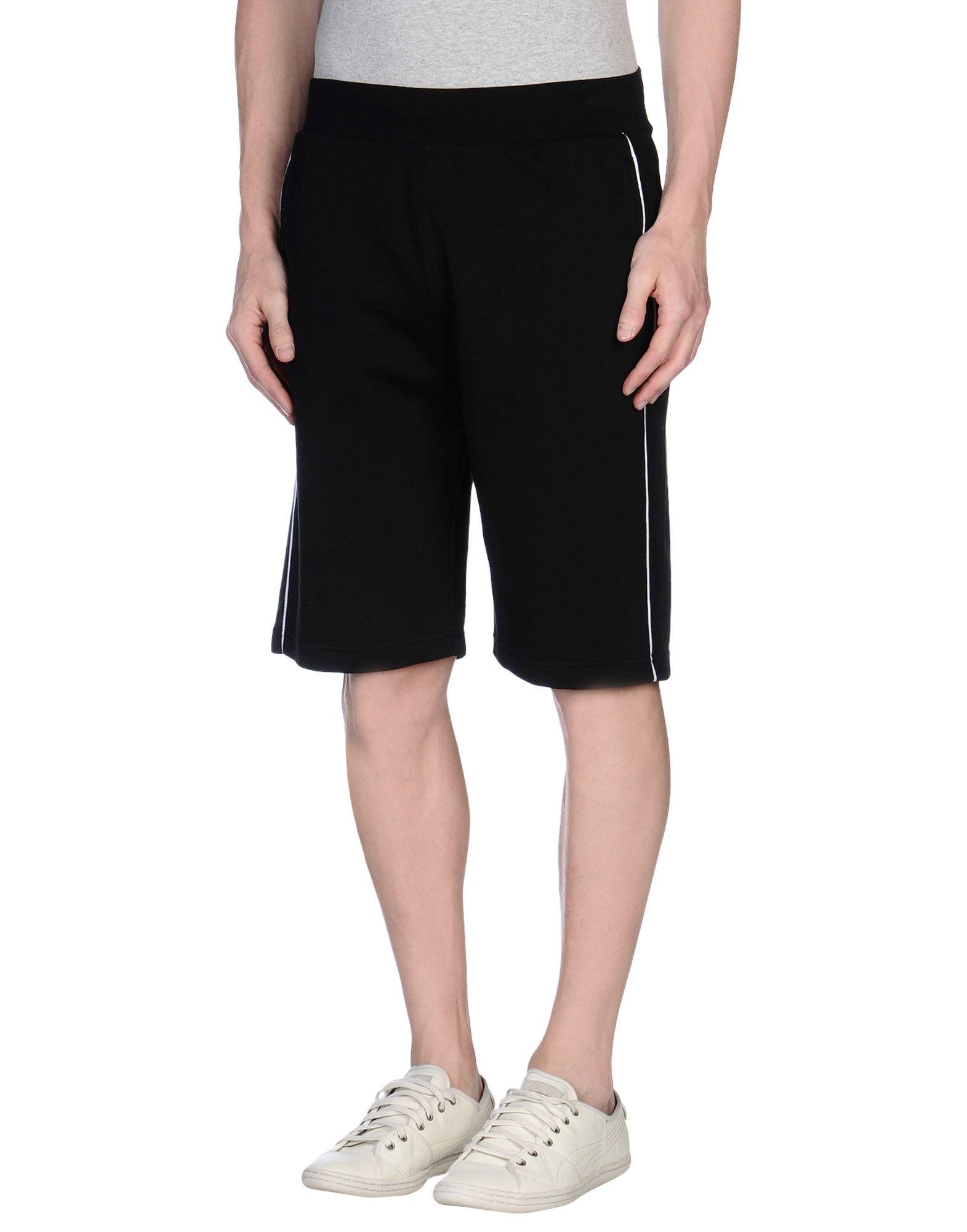 Ea7 Bermuda Shorts in Black for Men | Lyst