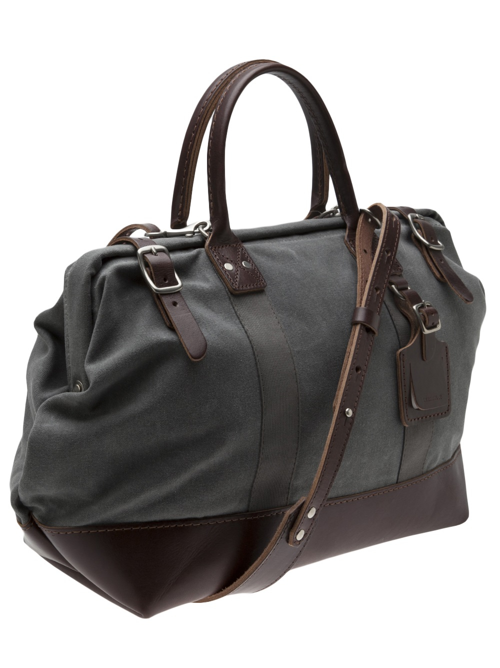 Lyst Billykirk Mason Bag In Gray For Men