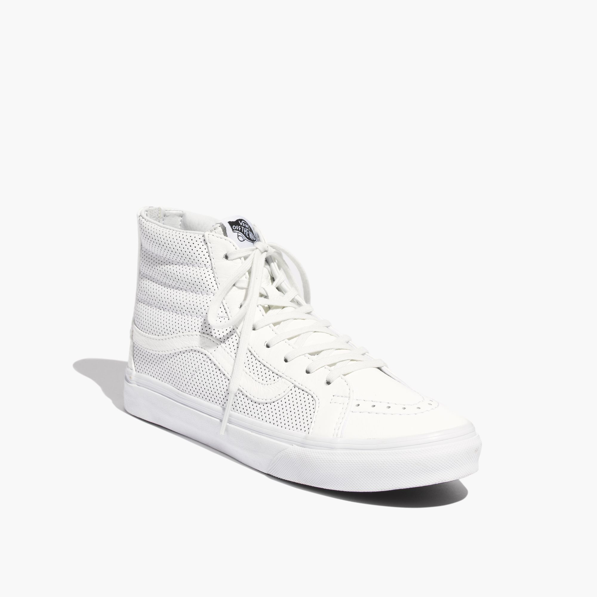 d566e72b2e6170 Lyst - Madewell Vans® Sk8-Hi Slim Zip High-Top Sneakers In ...