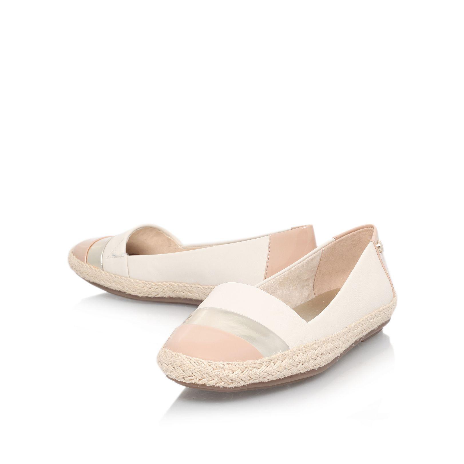 klein saleem flat slip on shoes in lyst
