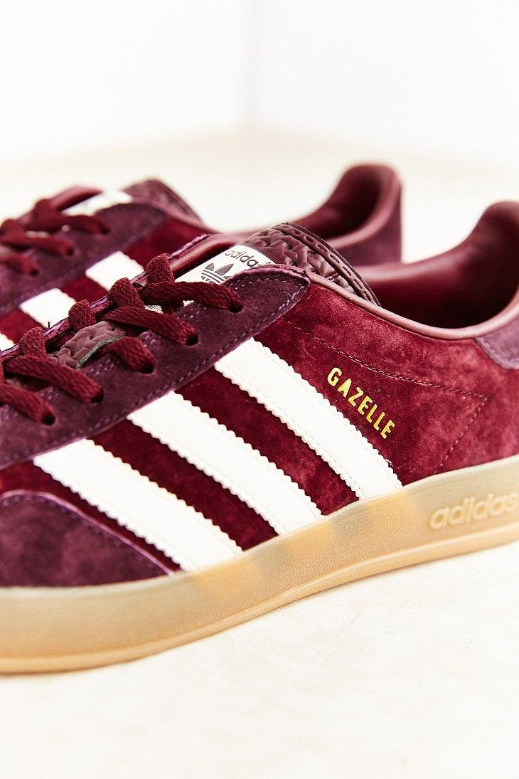 Lyst Adidas Originals Gazelle Gum Sole Indoor Sneaker In