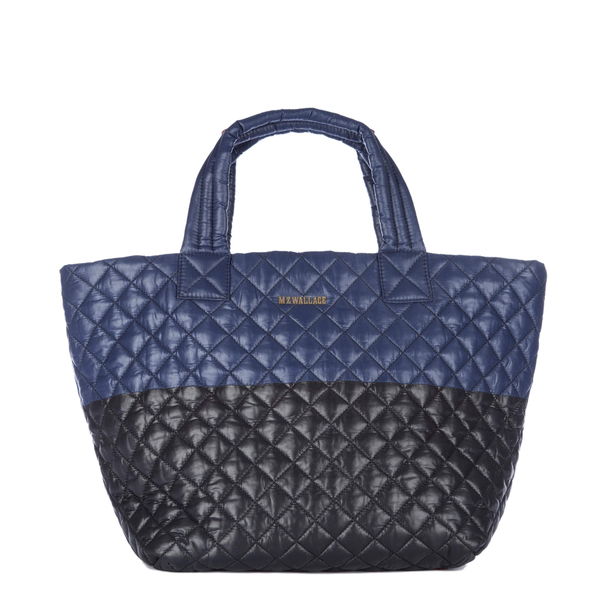 Lyst Mz Wallace Small Metro Tote Bag In Black
