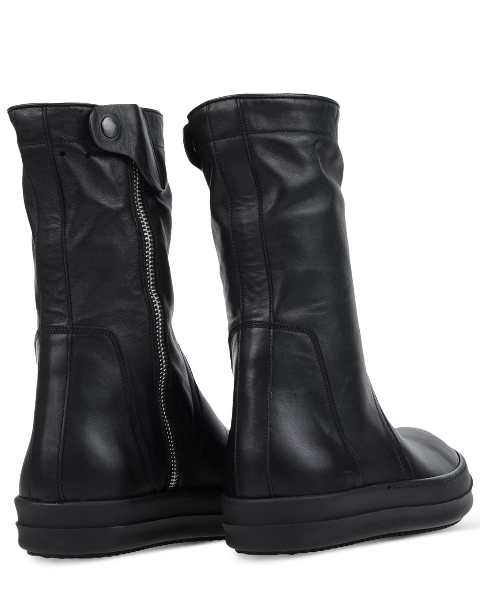rick owens boots in black for lyst