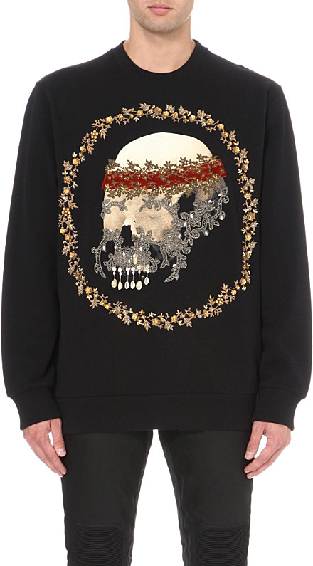 givenchy skull sweater givenchy paris tee. Black Bedroom Furniture Sets. Home Design Ideas