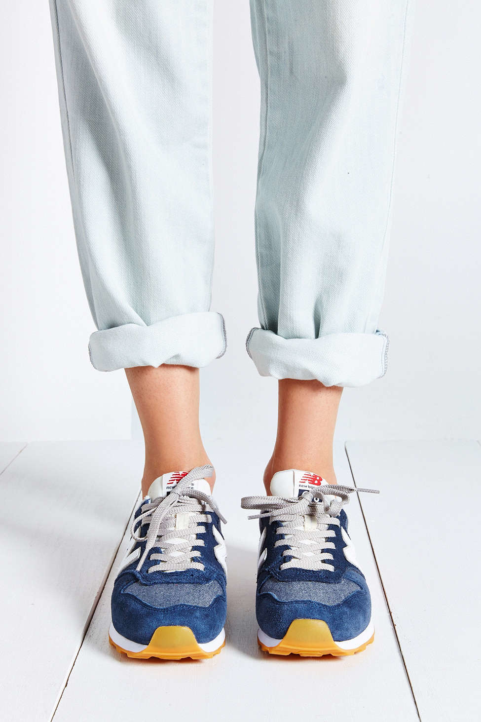 official photos 3f480 53504 New Balance 696 Capsule Running Sneaker in Blue - Lyst
