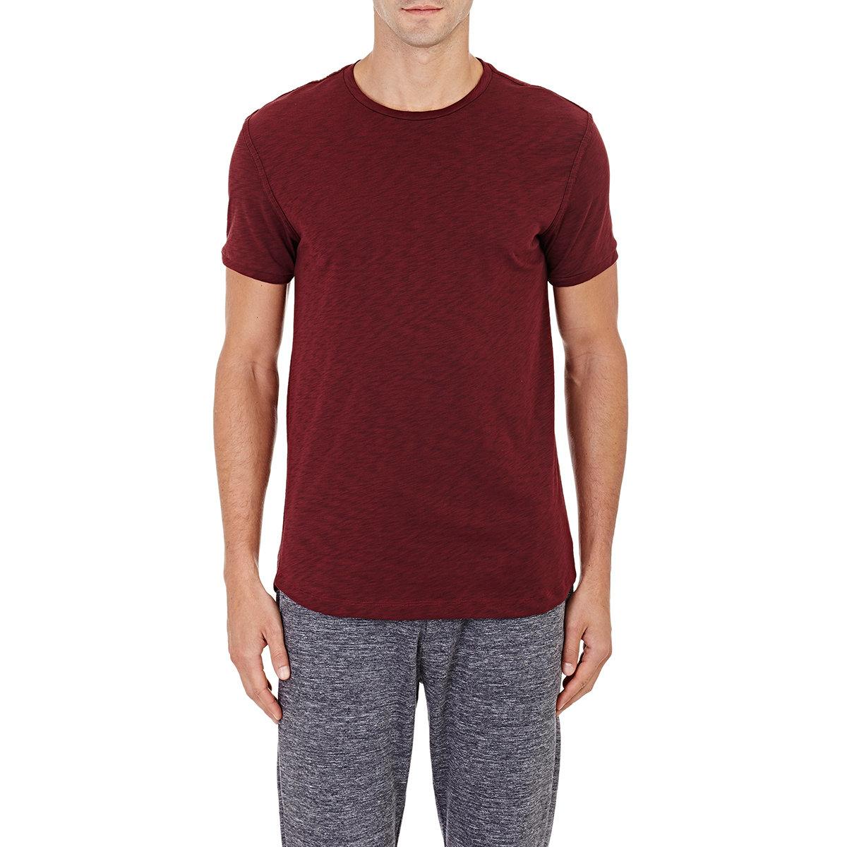 9d485726976 Lyst - Theory Dekker Slub T-shirt in Purple for Men