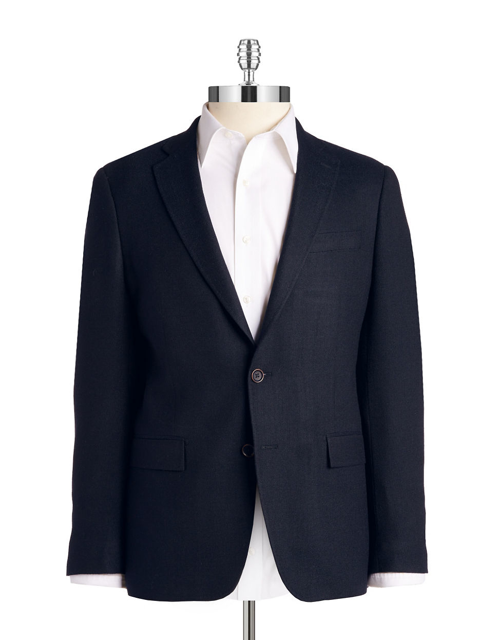 michael kors blue two button blazer for men lyst