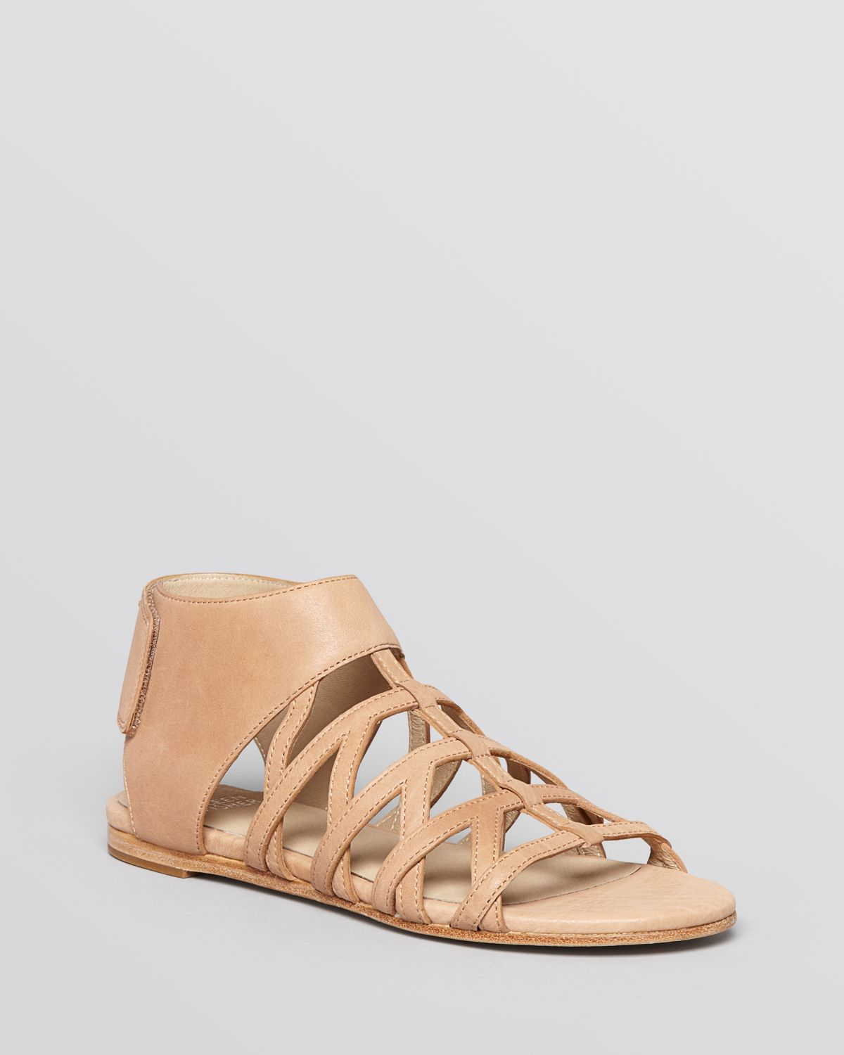 Eileen Fisher Flat Gladiator Sandals Nest In Natural Lyst