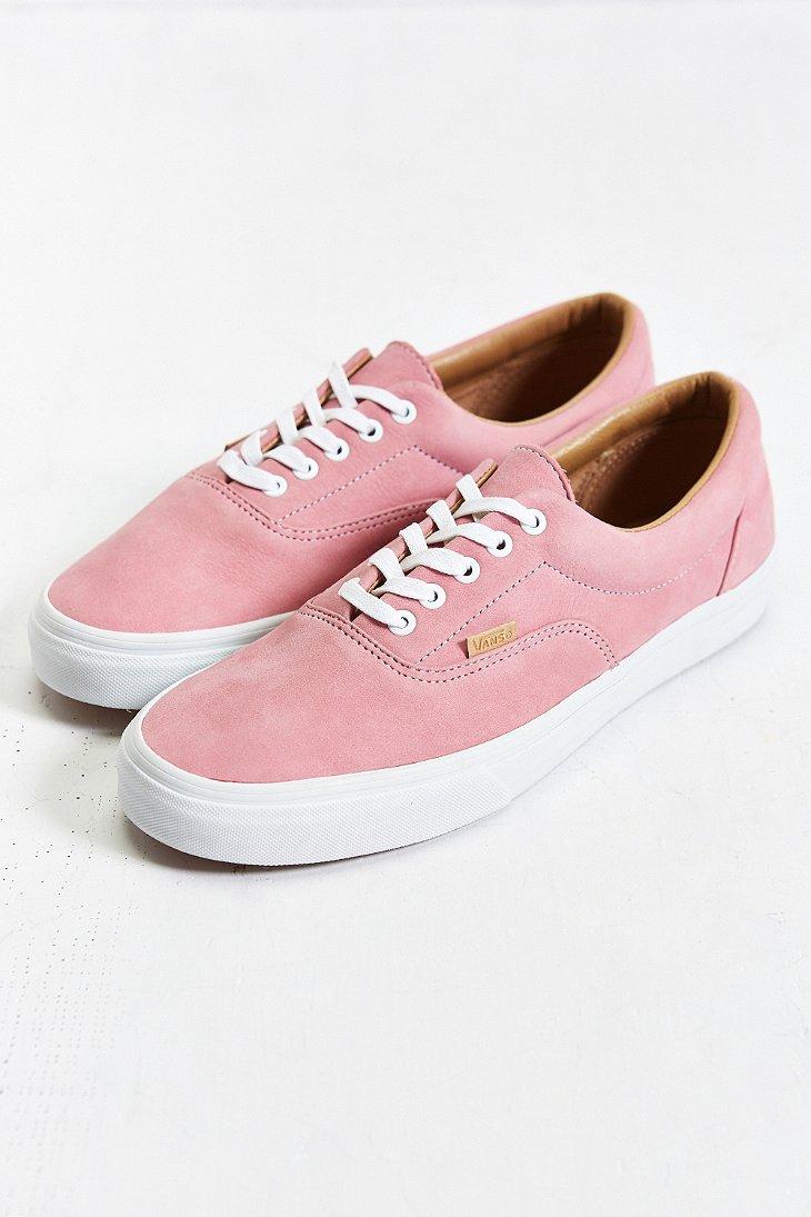d5c5e92e7cc4 Lyst - Vans Era California Pastel Nubuck Sneaker in Pink for Men