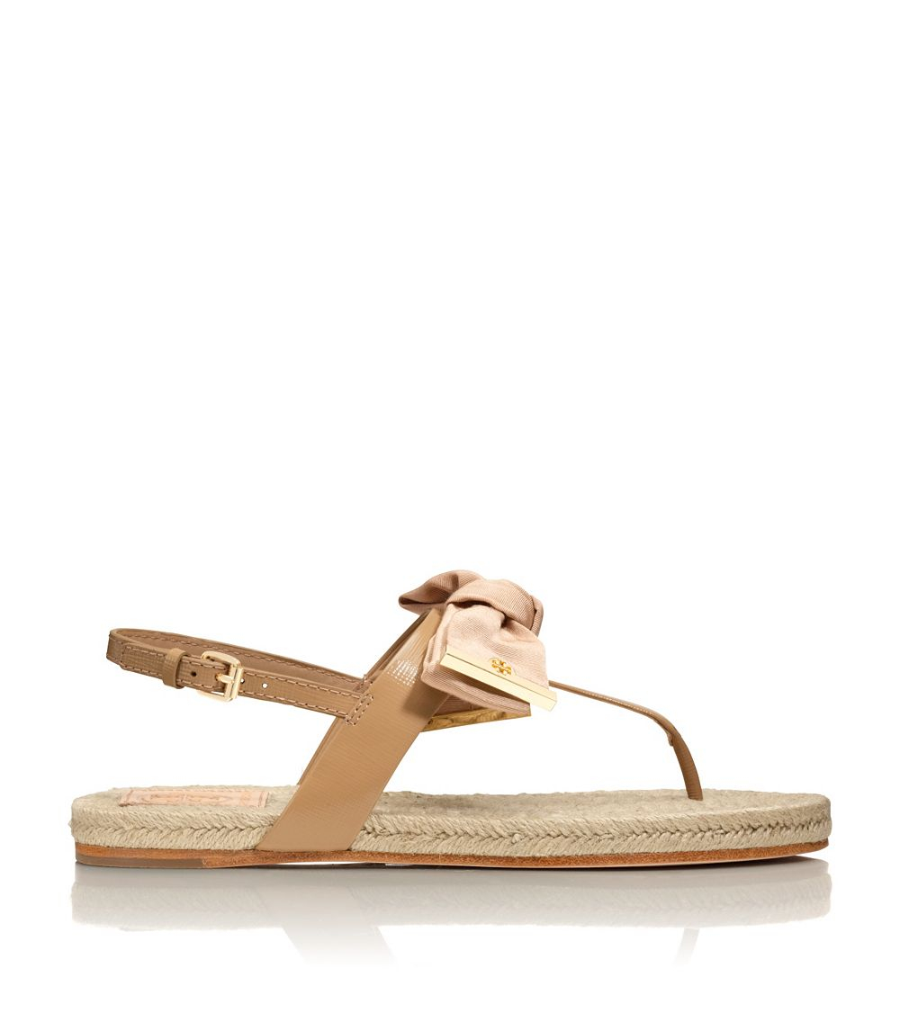 716e8a1096c0 Tory Burch Penny Flat Thong Sandal in Pink - Lyst