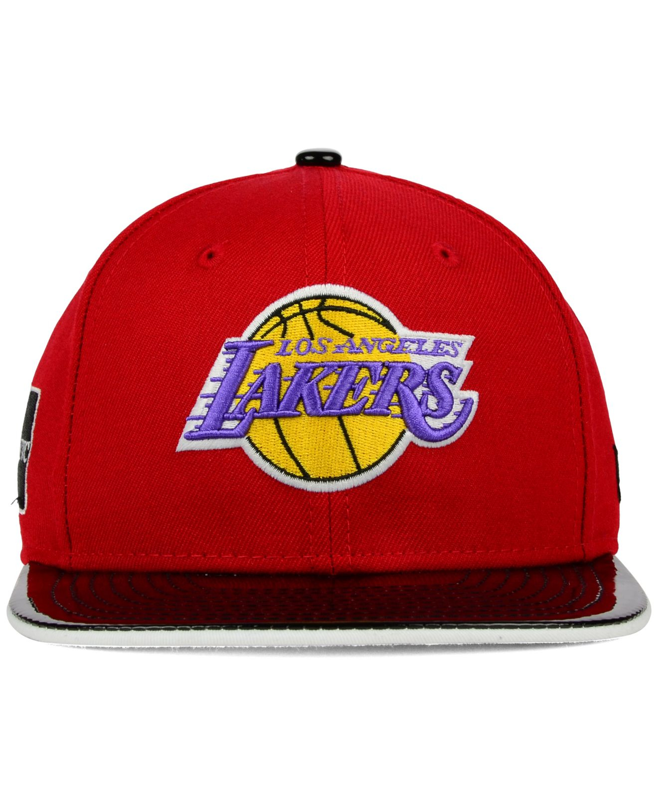 best service bc1dc d7770 Lyst - KTZ Los Angeles Lakers Bred Hookup 9fifty Snapback Cap in ...