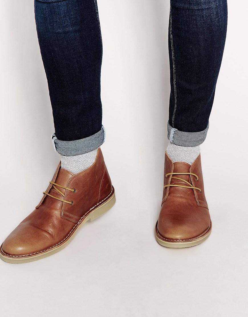 Selected Desert Boot In