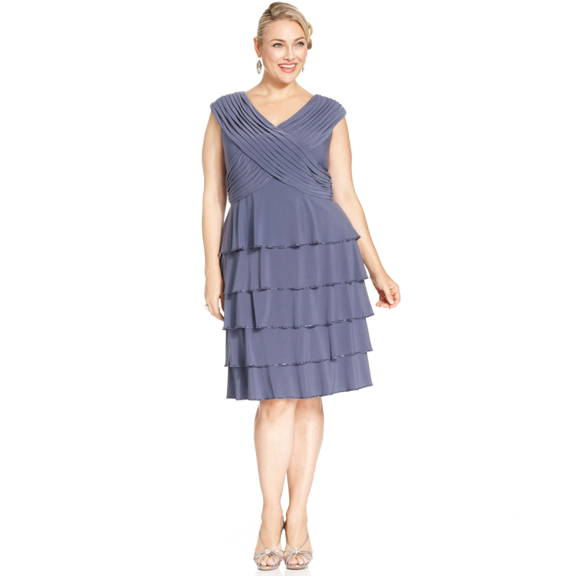 Emejing Layered Plus Size Dress Contemporary - Mikejaninesmith.us ...