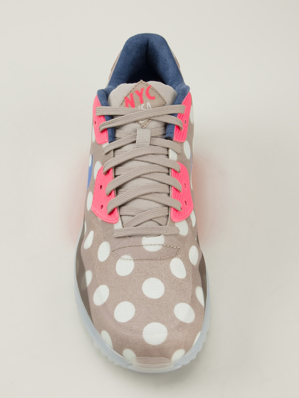 huge selection of d677b 79a47 reduced gallery. previously sold at farfetch blue cream mens air max 90  trainers mens nike