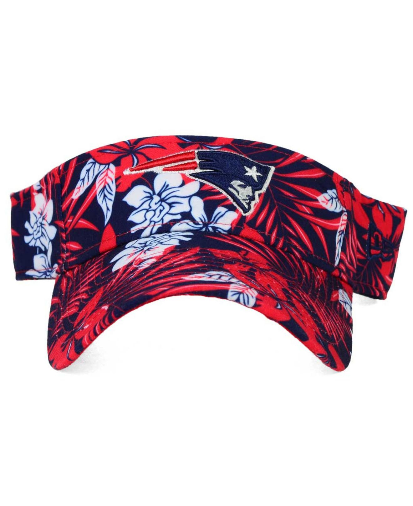 Lyst Ktz New England Patriots Wowie Visor In Red For Men