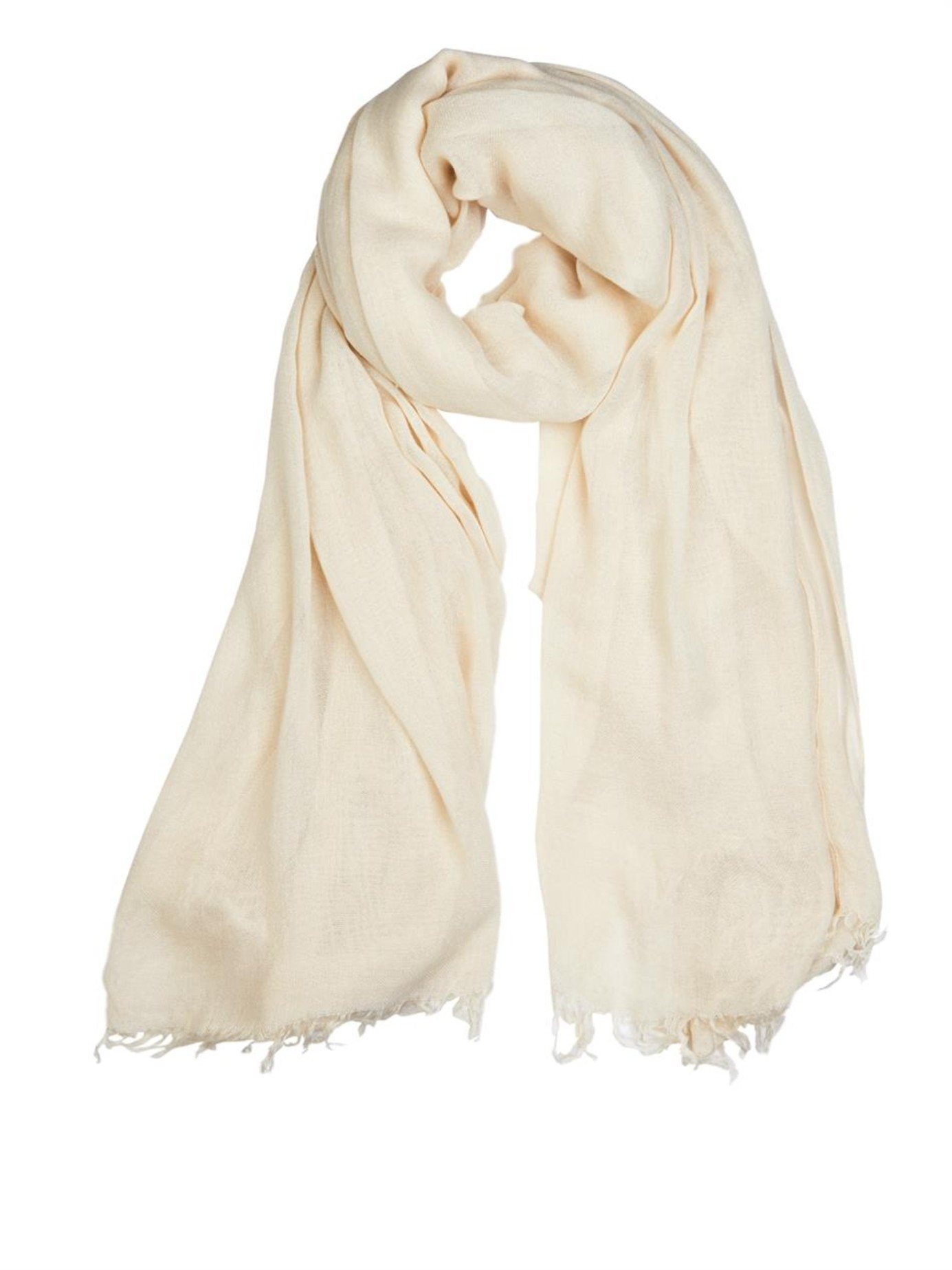 201 Toile Isabel Marant Curt Scarf In Natural Lyst
