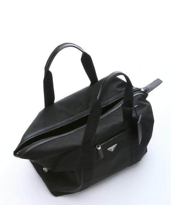 prada wallet prices - Prada Black Leather Trimmed Nylon Duffel Bag in Black   Lyst