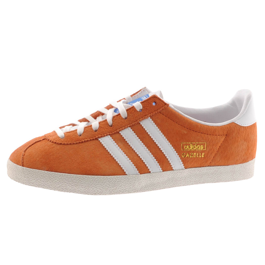 c6ac480b223 Lyst - adidas Originals Gazelle Og Trainers Tropic Melon in Orange ...