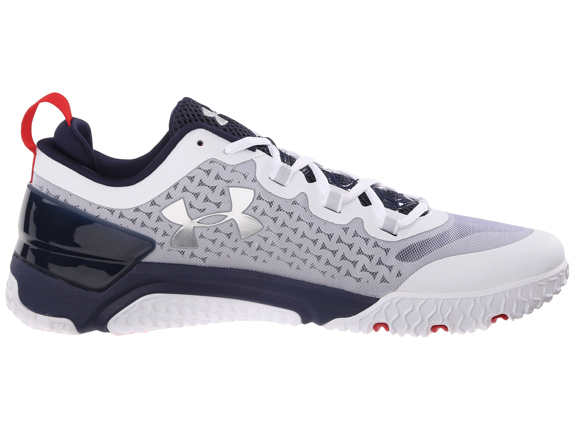 a46a63a2d2a1 Lyst - Under Armour Ua Charged Ultimate Tr Low in White for Men