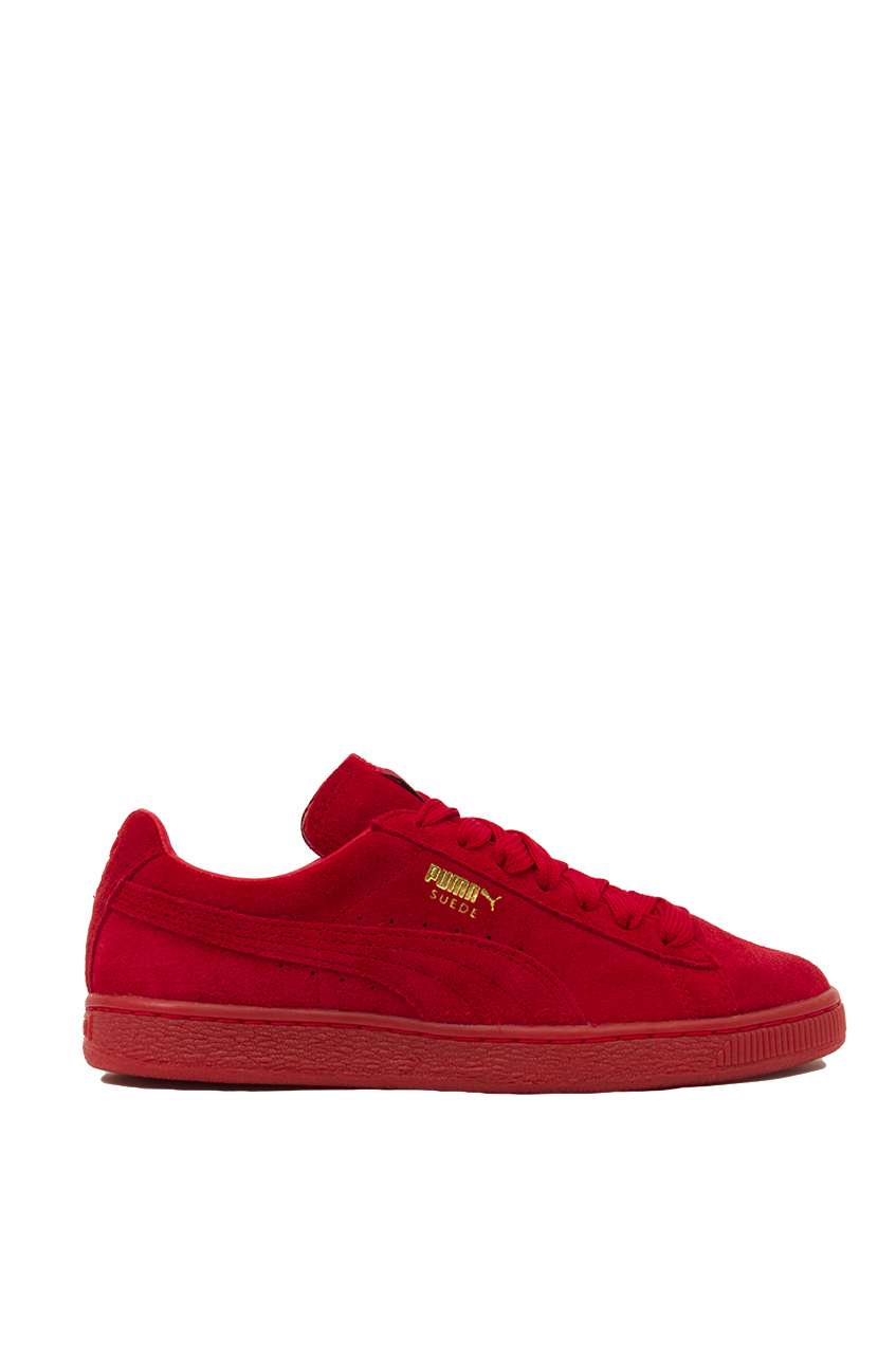 Lyst - PUMA Suede Classic + Mono Iced Sneakers in Red 467d7460b